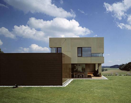 Villa P. Atzbach by Rieder | Facade systems