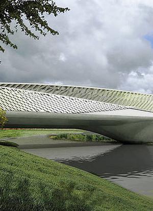 Zaragoza Bridge Pavillon by Rieder | Facade systems