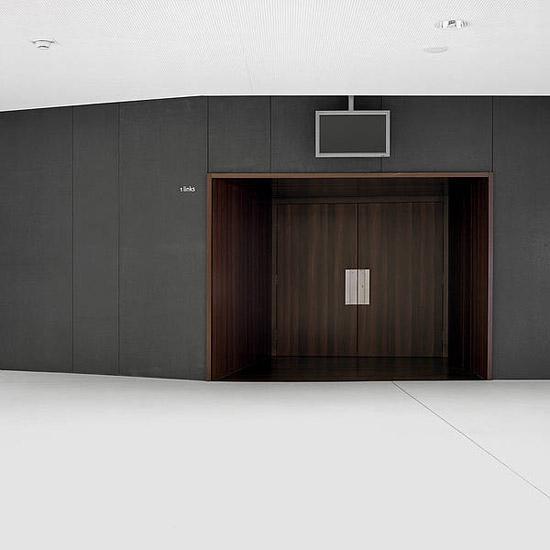 concrete skin - interior | Opera House Bregenz by Rieder | Facade systems