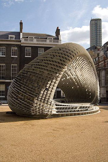 [C]SPACE Pavilion London by Rieder | Facade systems