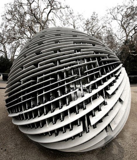 [C]SPACE Pavilion London by Rieder | Facade design