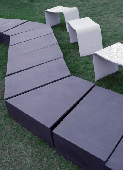 Light & Concrete - Triennale Milano 2007 by Rieder