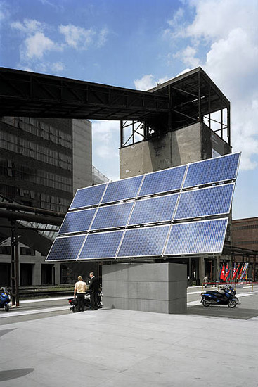 Solar Filling Station by Rieder | Facade systems
