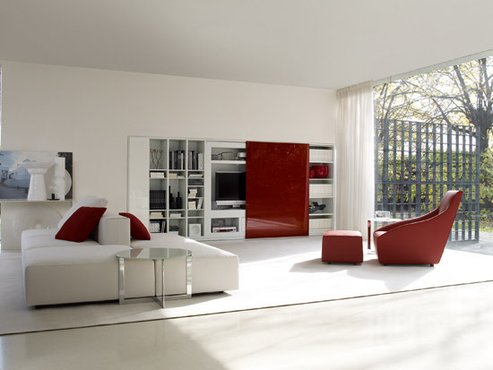 505 by Molteni & C | Wall storage systems