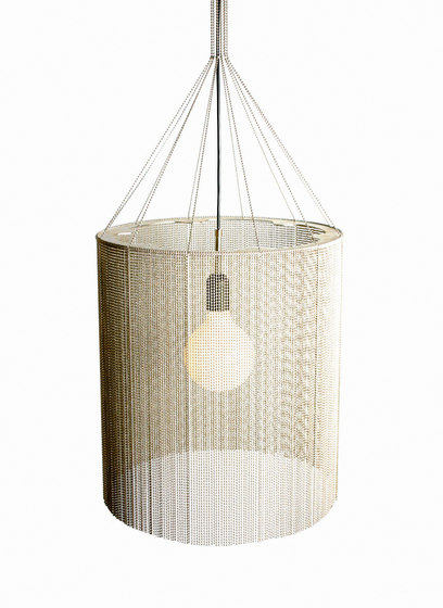 Circular Cropped 400 Pendant Lamp by Willowlamp | General lighting