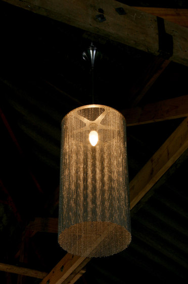 Circular Cropped 280 Pendant Lamp di Willowlamp | Illuminazione generale