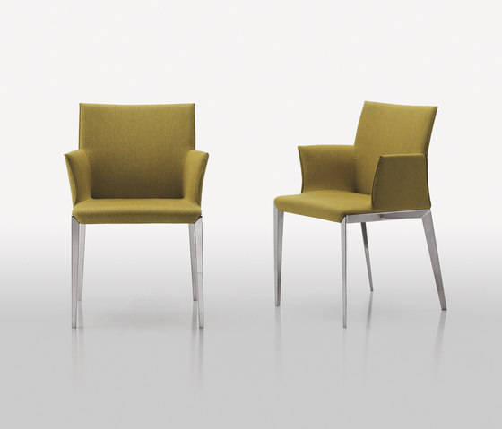 Dart Armchair by Molteni & C | Restaurant chairs
