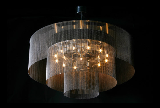 3-Tier - 1000 - suspended by Willowlamp | Suspended lights