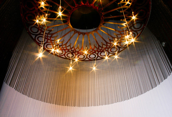 Ngoma Chandelier- custom by Willowlamp | Chandeliers