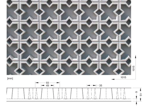 2/113 Oriental 13 von RECKLI | Fassadenbekleidungen