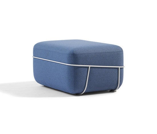 Pebble de Blå Station | Poufs