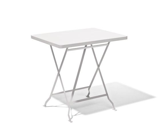 Flip balcony and dining table de Lampert | Mesas para cafeterías