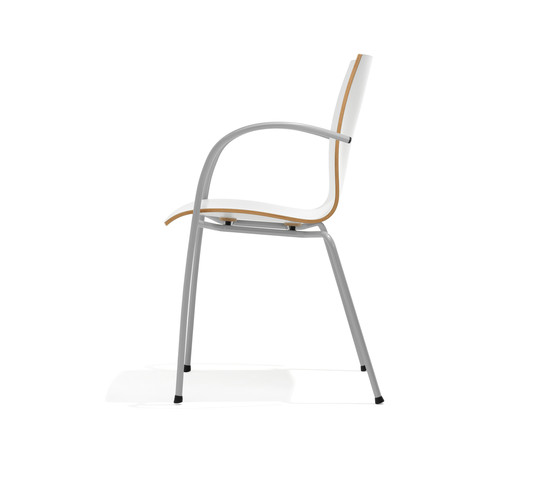 1160/4 Trio by Kusch+Co | Visitors chairs / Side chairs