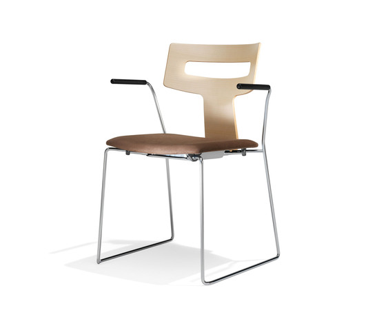 1252/4 Etea by Kusch+Co | Visitors chairs / Side chairs