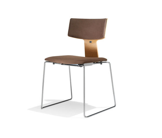 1273/2 Etea by Kusch+Co | Visitors chairs / Side chairs