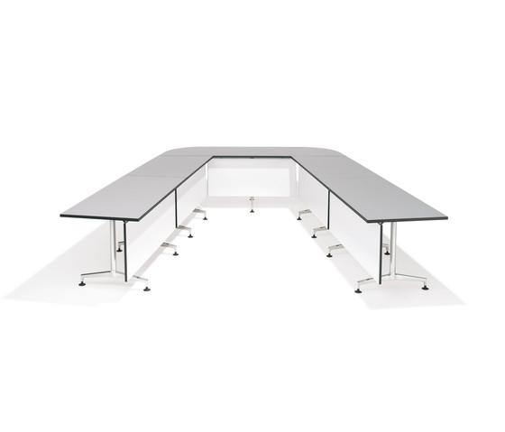 8400 Ona desk by Kusch+Co | Seminar tables
