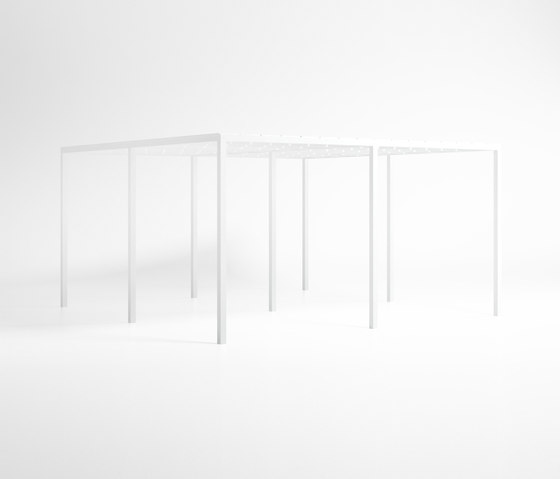 Módulo | Polyethylene Ceiling Module by GANDIABLASCO | Pergolas