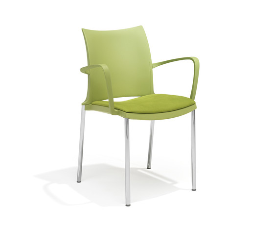 2202/4 ¡Hola! by Kusch+Co | Visitors chairs / Side chairs