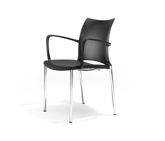 2200/4 ¡Hola! by Kusch+Co | Visitors chairs / Side chairs
