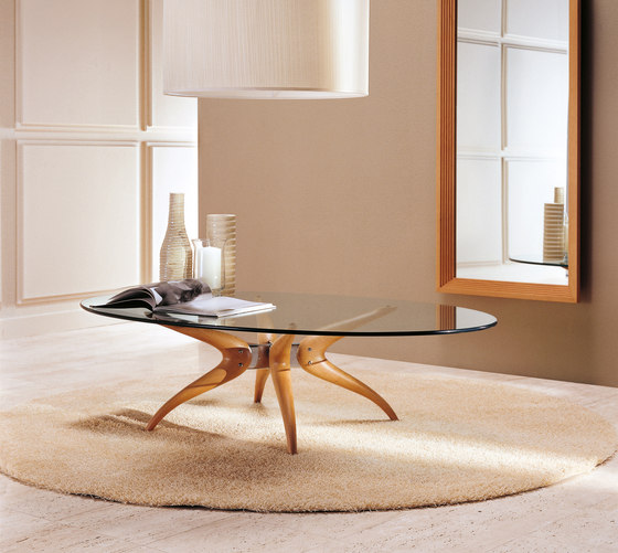 denuo tondo ovale by Porada | Coffee tables