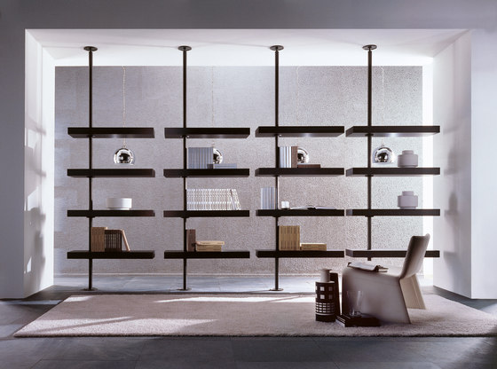 Domino expo Bookcase by Porada | Shelving