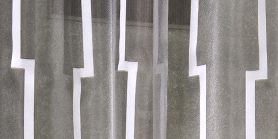 Steel Track de Création Baumann | Tejidos para cortinas