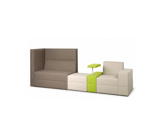 Bricks Sofa by Palau | Lounge-work seating