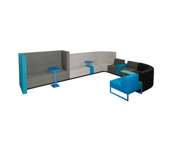 Bricks Sofa von Palau | Lounge-Arbeits-Sitzmöbel