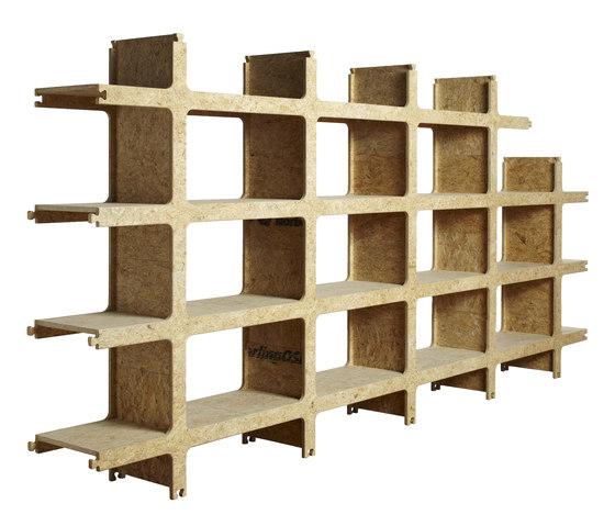 Kwart Shelf by Palau | Space dividers