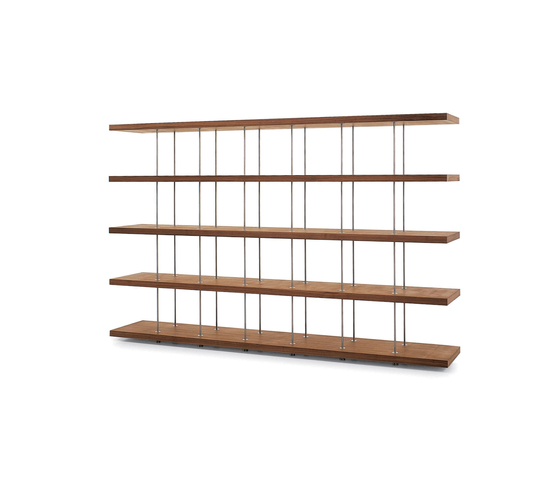 Piano Design Bookshelf by Riva 1920 | Shelving systems