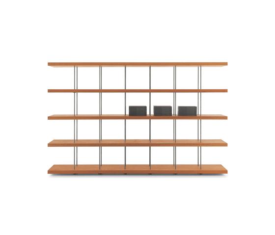 Piano Design Bookshelf di Riva 1920 | Scaffali