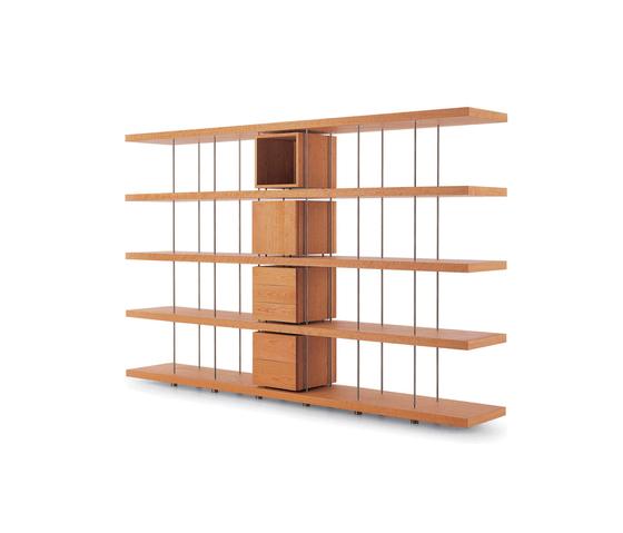 Piano Design Bookshelf de Riva 1920 | Bibliothèques