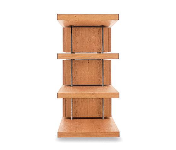 Piano Design Bookshelf by Riva 1920 | Shelving systems
