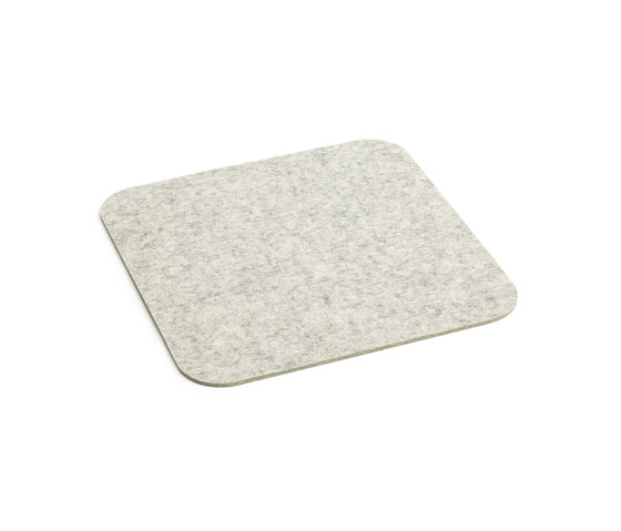 Coaster with rounded corners by HEY-SIGN | Coasters / Trivets