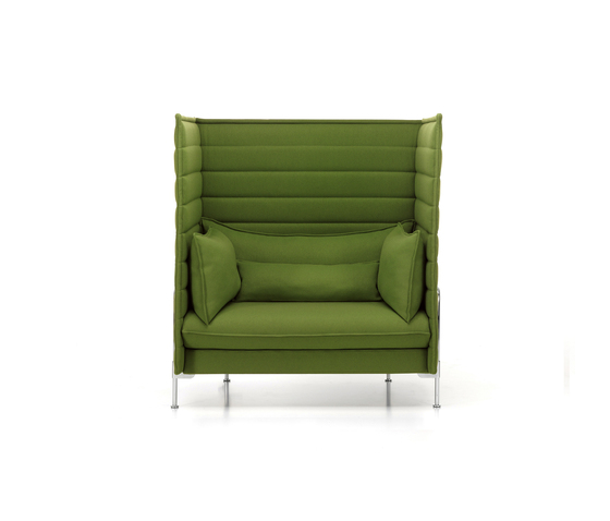 Alcove highback sofa de vitra alcove highback three for Canape alcove bouroullec