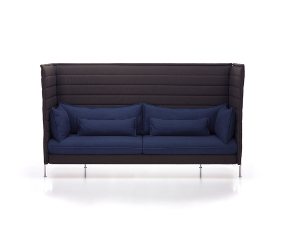 Alcove Highback Three-Seater di Vitra | Divani lounge