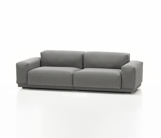 place sofa by vitra 2 seater ottoman 2 seater chaise. Black Bedroom Furniture Sets. Home Design Ideas