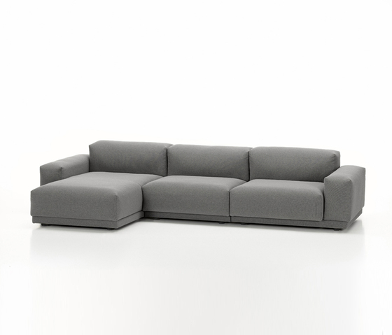Place Sofa 3-seater chaise longue configuration by Vitra | Sofas