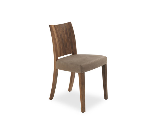 Pimpinella Leather by Riva 1920 | Restaurant chairs