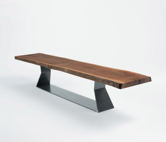 Bedrock by riva 1920 block plank c plank bench for Table 300 cm