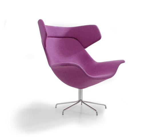 Oyster easy chair de OFFECCT | Fauteuils d'attente