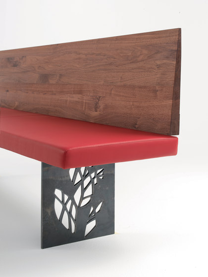 Natura Toledo by Riva 1920 | Upholstered benches
