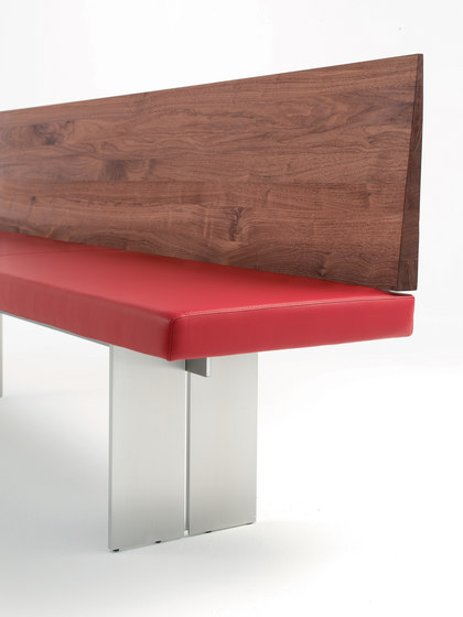 Orlando by Riva 1920   Upholstered benches