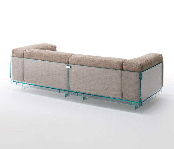 Crystal Lounge by Glas Italia | Lounge sofas