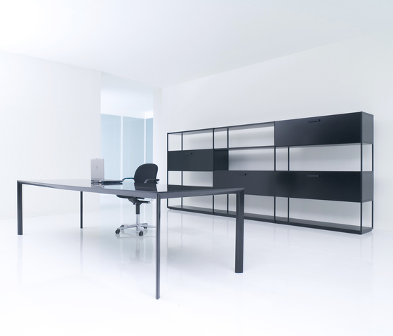 HT Work by PORRO | Office shelving systems