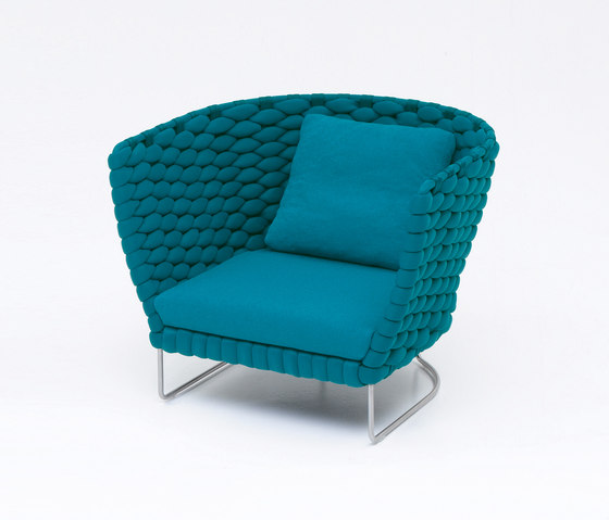 Ami by Paola Lenti | Garden armchairs