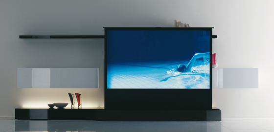 New Concepts Superschermo 100'' by Acerbis | Multimedia sideboards