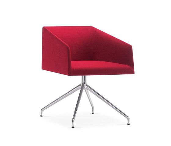 Saari | 2706 by Arper | Visitors chairs / Side chairs