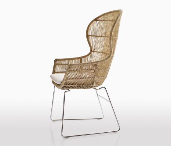 Crinoline by B&B Italia | Garden chairs