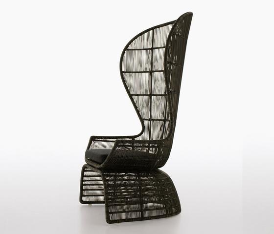 Crinoline by B&B Italia | Garden armchairs